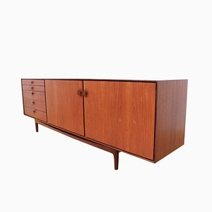 Long Danish Teak Sideboard by Ib Kofod-Larsen for G-Plan, 1960s