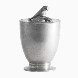 Pewter Jar with Osprey by Estrid Ericson, 1925