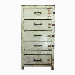 Französische Vintage Kommode mit Fünf Schubladen