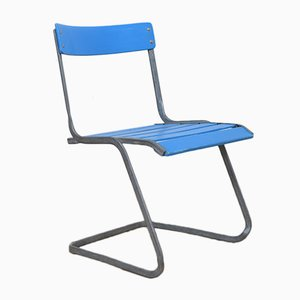 Vintage Model 7 Stacking Chair by Flora Steiger Crawford for Embru
