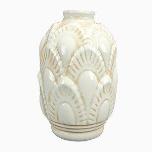 Modell F1117 Vase von Charles Catteau für Boch Frères Keramis, 1930er