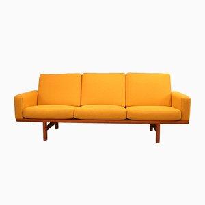 Vintage GE 236 Three-Seater Sofa by Hans J. Wegner for Getama