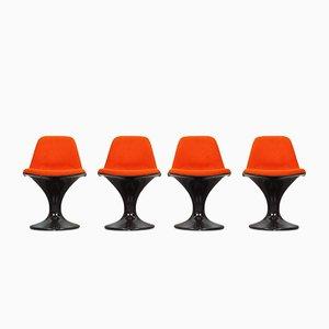 Mid-Century Orbit Chairs by Markus Farner & Walter Grunder for Herman Miller/Vitra, Set of 4