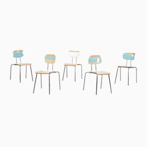 Neues New York Stacking Chairs from Atelier Staab, 2012, Set of 5