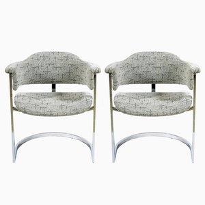 Italian Mid-Century Small Armchairs, 1965, Set of 2