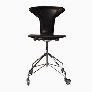Mid-Century Mosquito Schreibtischstuhl von Arne Jacobsen für Fritz Hansen