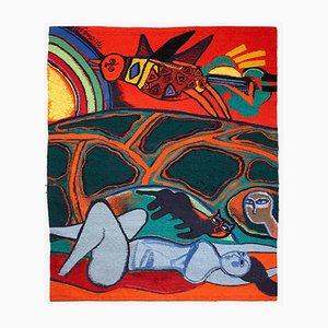 Wandteppich von Beverloo Corneille für Atelier 3, 1988