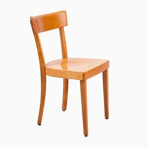 Vintage Viennese Wooden Chair from Wiesner-Hager