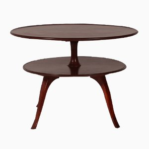 Circular Two-Tier Coffee Table from Fritz Henningsen, 1932