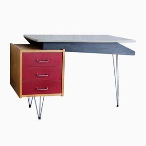 Niederländischer Vintage Schreibtisch von Cees Braakman für Pastoe, 1950er