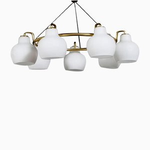 Christiansborg Chandelier by Vilhelm Lauritzen for Louis Poulsen, 1955