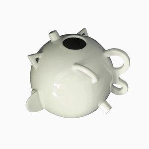 Kugelförmige Dealbata Vase von Alessandro Mendini für Zanotta, 1986