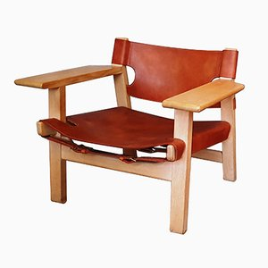 Spanish Chair by Børge Mogensen for Frederica, 1950s