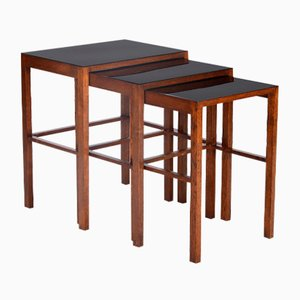 Tables Gigognes H-50 par Jindrich Halabala pour Spojene UP Zavody, 1930s
