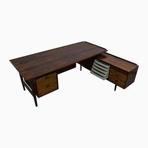 Mid-Century Executive Desk & Sideboard by Arne Vodder for Sibast