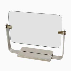 Spiegel mit Messingrahmen von Fontana Arte, 1950er