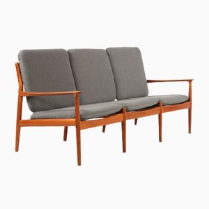Vintage Teak Sofa von Grete Jalk für Glostrup