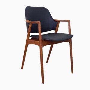 Sedia da ufficio modello Kontur di Alf Svensson per DUX, anni '60