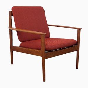 Modell 56 Polsterstuhl von Grete Jalk für Poul Jeppesen Mobelfabrik, 1950er