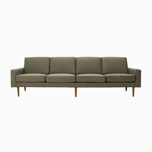 Mid-Century Modern Four-Seater Sofa