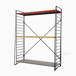 Mid-Century Dutch Freestanding Shelf by D. Dekker for Tomado