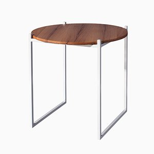 LULU   Side Table in Recycled Oak and Steel from Johanenlies, 2017
