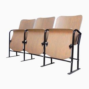 Vintage 3-Sitzer Kinobank