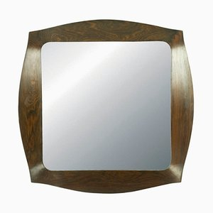 Savino Rosewood Mirror by Campo e Graffi for Home, 1960s