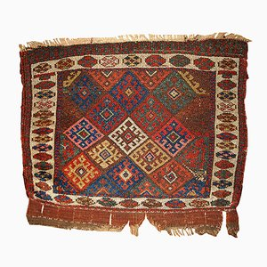 Antiker Persischer Handgewobener Teppich, 1880er