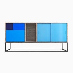 Blaues Real Sideboard von Studio Deusdara