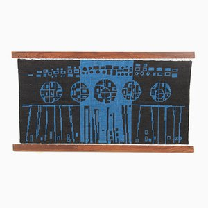 Scandinavian Wall Tapestry by Leena Kaisa Halme for Helmi Vuorelma Oy, 1950s