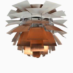 Mid-Century Kupfer PH Zapfen Lampe von Poul Henningsen für Louis Poulsen