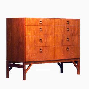 Vintage Model 232 Teak Drawer Cabinet by Børge Mogensen for FDB Møbler