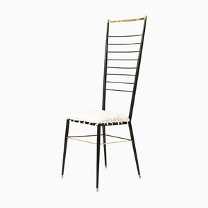 Highback Chair by Gastone Rinaldi, 1950s