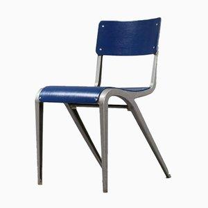 Vintage Industrie Stuhl aus Gegossenem Aluminium von James Leonard, 1948