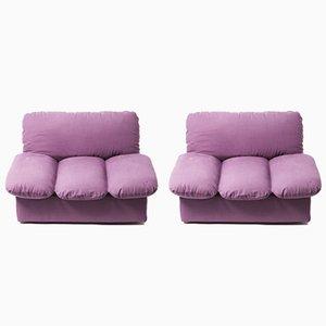 Vintage Cento per Cento Two-Part Modular Sofa by De Pas, D'Urbino, & Lomazzi for Zanotta