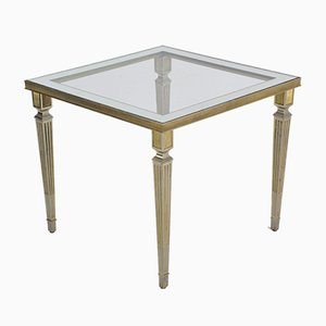 Silver Plated French Table, 1970s