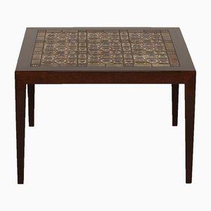 Tiled Coffee Table by Severin Hansen Jr. for Haslev Møbelfabrik, 1960s