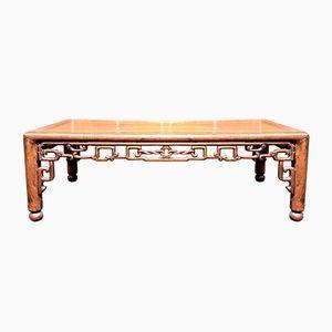 Antique Padouk Coffee Table