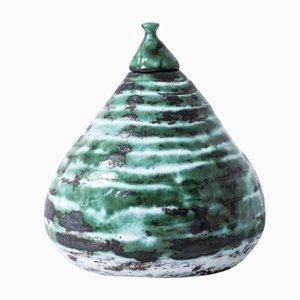 Vintage Keramik Topf von Jac Ward