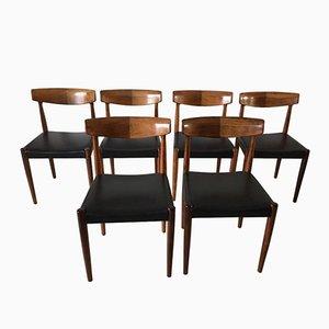 Palisander Esszimmerstühle von Bovenkamp, 1960er, 6er Set