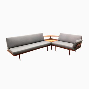 Minerva Sofa Set by Peter Hvidt & Orla Mølgaard-Nielsen for France & Søn, 1960s