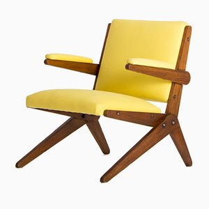 Yellow Armchair by Lina Bo Bardi for Studio d´Arte Palma