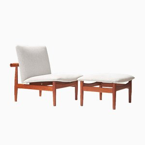 137 Japan Chair & Ottoman by Finn Juhl for France & Son, 1950s