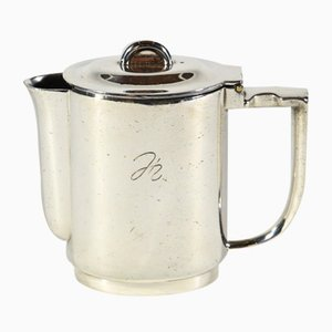 Silver Plated Alpacca Coffee Pot by Gio Ponti for Krupp Berndorf, 1935