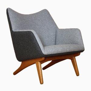 Danish Lounge Chair by Illum Wikkelsø for Mikael Laursen, 1960s