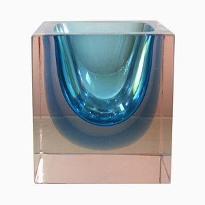 Vase aus Murano Glas von Alessandro Mandruzzato, 1960er