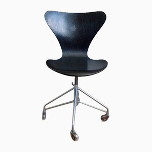 Chaise de Bureau 3117 Série 7 par Arne Jacobsen pour Fritz Hansen, 1970