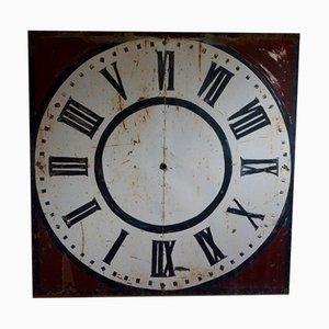 Esfera de reloj de iglesia, siglo XIX