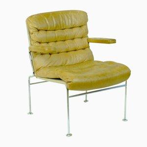Birgitta Leather Armchair by Bruno Mathsson for Dux, 1960s